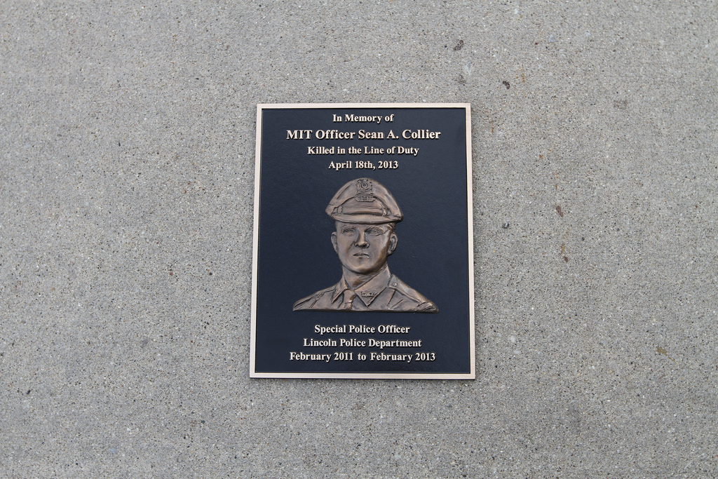 Police Dept Honors Hero with Bas Relief Plaque | Impact Signs