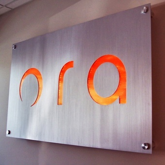 A solid aluminum panel with your logo reverse cut out. It features a translucent backer in your logo colors lit with an LED light box behind the panel and ... & Backlit Lobby Signs -Indoor LED Lighted Signs | Impact Signs Aboutintivar.Com