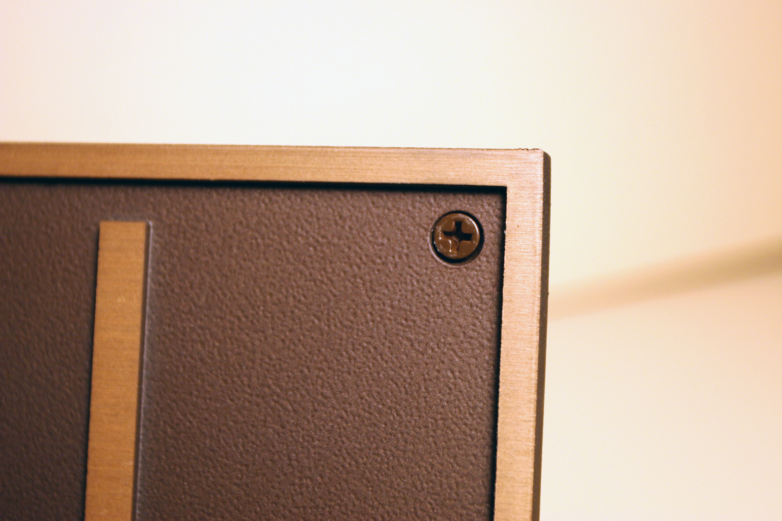 Solid Wall Mount No Rosette