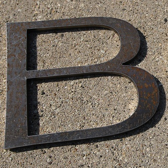 Steel Letter Cutting Order Metal Letters Now  Solid Cut Metal Sign Letters
