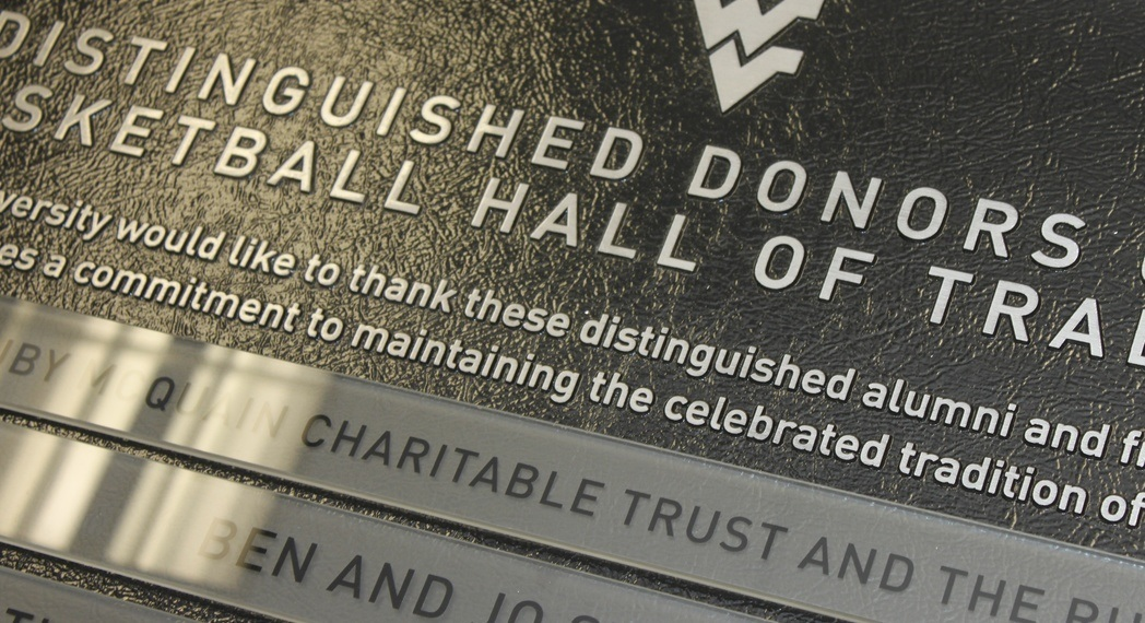 donor plaques and donor wall signage